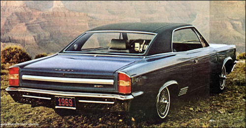 1969 Amc rebel sst hardtop