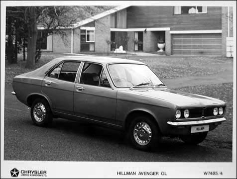 1969 hillman avenger gl