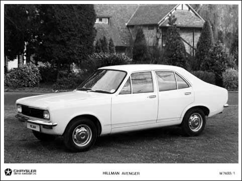 1969 hillman avenger