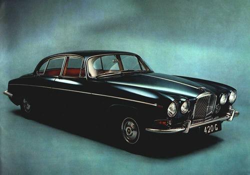 1969 jaguar 420a 09 l