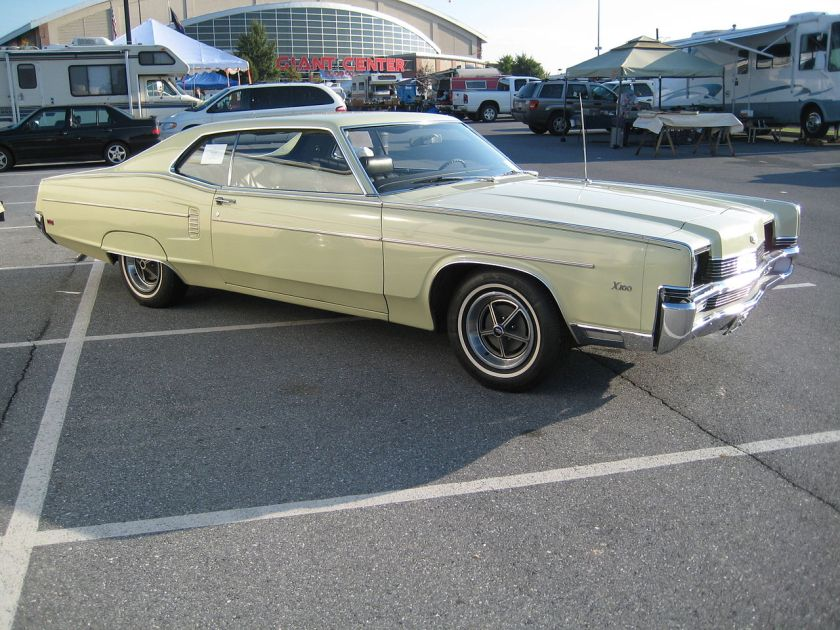1969 Mercury Marauder X100 2-door coupe