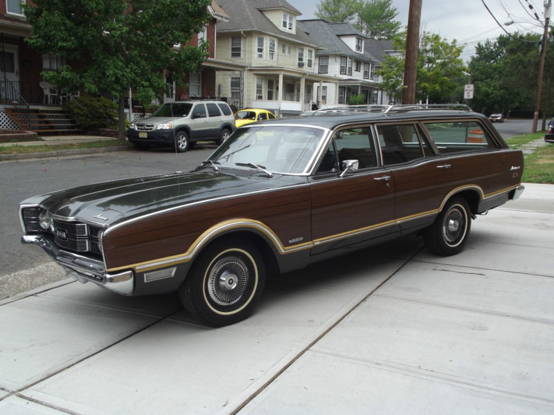 1969 Mercury Montego MX Villager station wagon