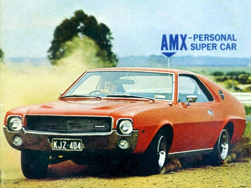 1969 Rambler AMX assembled by AMI