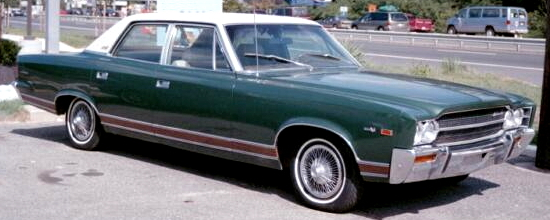 1969_AMC_Ambassador_SST_sedan_green-e