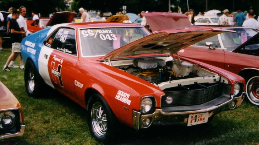 1969_AMC_AMX_SS_Hurst_at_Kenosha_show