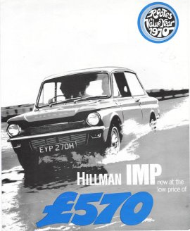 1970 Hillman Imp