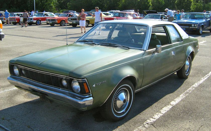 1970_AMC_Hornet_SST_2-door_green_Kenosha-f