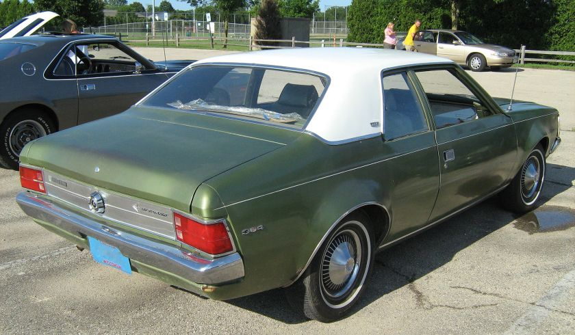 1970_AMC_Hornet_SST_2-door_green_Kenosha-r