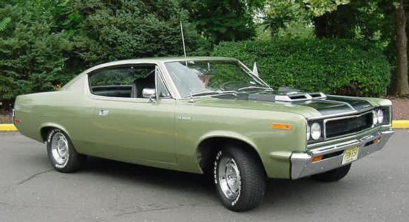 1970_AMC_Rebel_Machine_Green_Muscle_Car