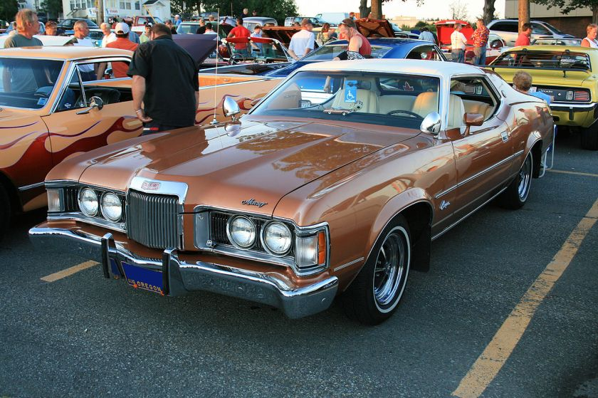 1971-1973 Mercury Cougar XR7