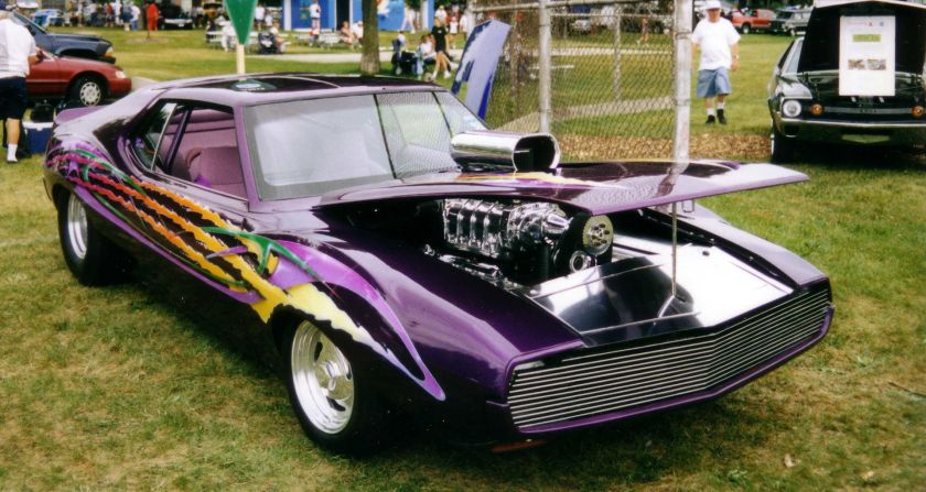 1971-74_purple_blown_custom AMC_Javelin_