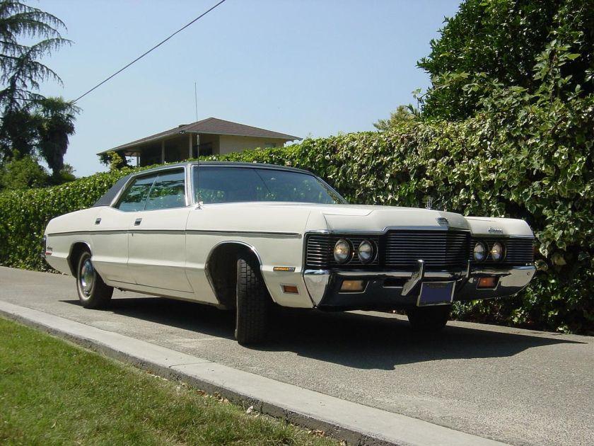 1971 Mercury MONTEREYFRONT