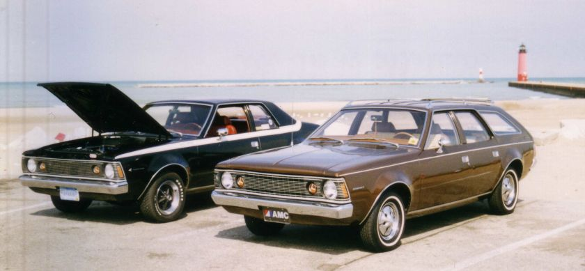 1971+1972 AMC_Hornets_in_Kenosha_Wisconsin