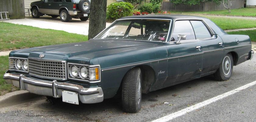 1972-74 Mercury Monterey Berlina
