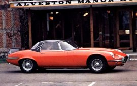 1972 Jaguar E-Type Fixed Head Coupe