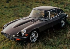 1972 Jaguar E Type V12 Coupe