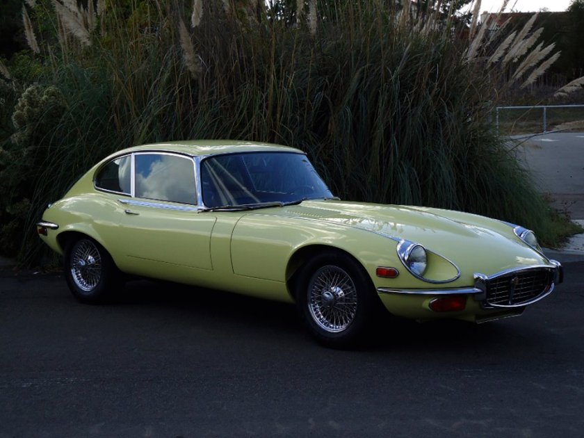 1972 Jaguar XKE 2+2 Fixed Head Coupe 5.3L, 4-Speed