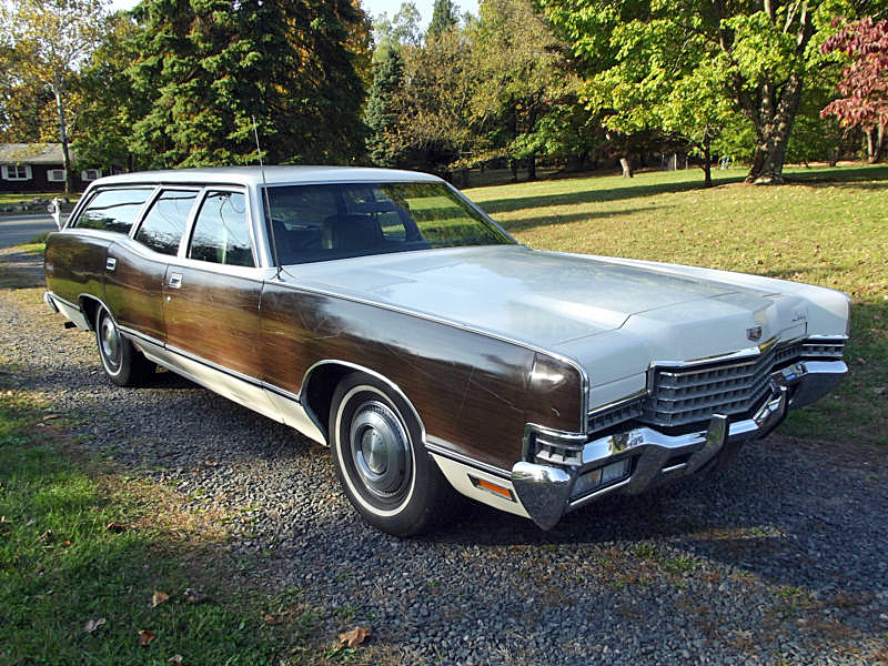 1972 Mercury Marquis Colony Park wagon