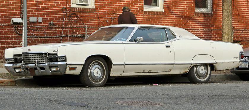 1972 Mercury Marquis coupe