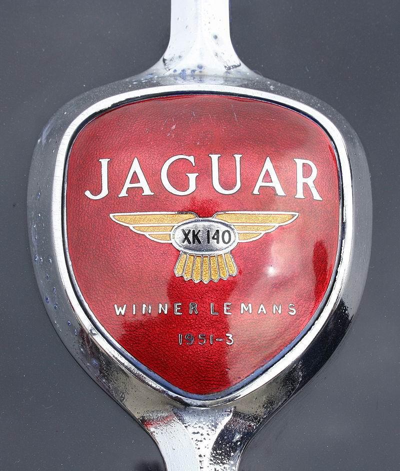 1974 1951 Emblem Jaguar XK 140