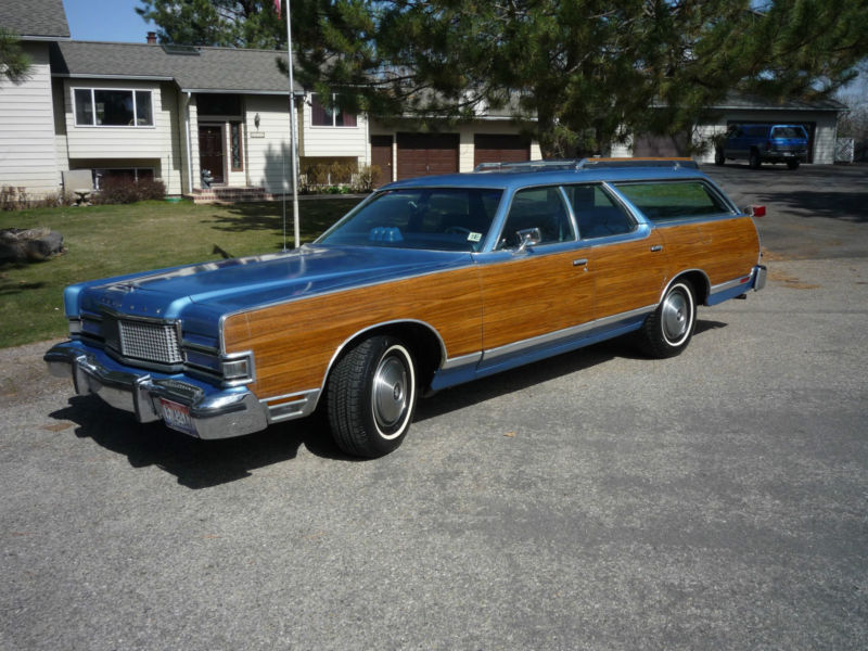 1974 Mercury Marquis Colony Park station wagon
