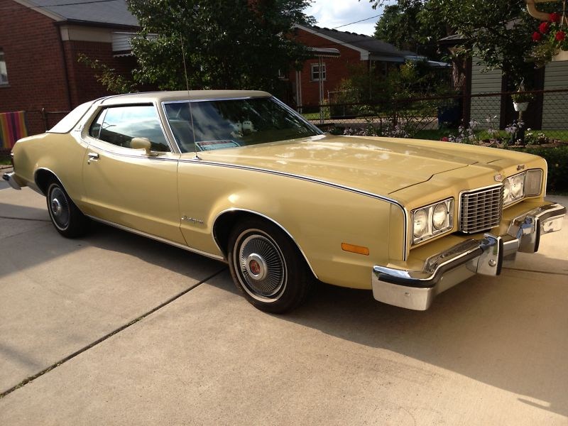 1974 Mercury Montego MX Brougham two-door hardtop.