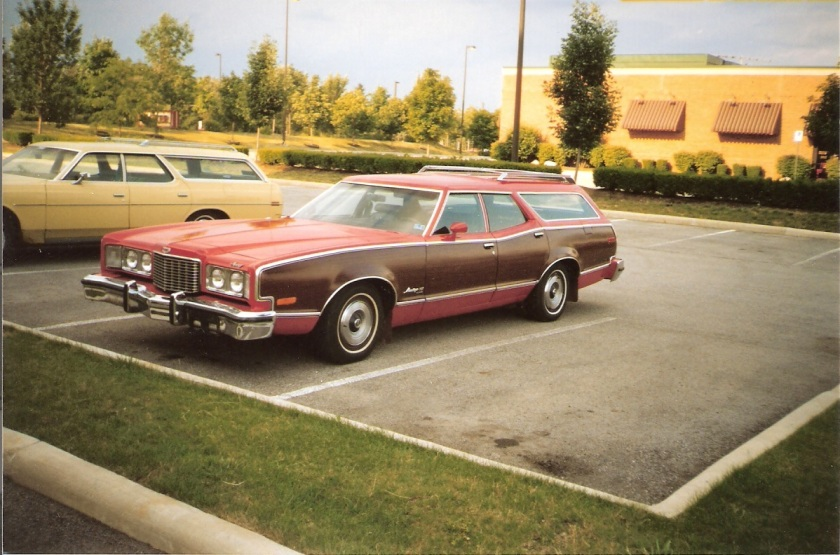 1974 Mercury Montego MX Villager station wagon