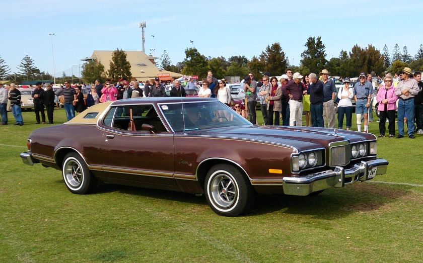 1975-76 Mercury Cougar XR-7 2-Door Hardtop.