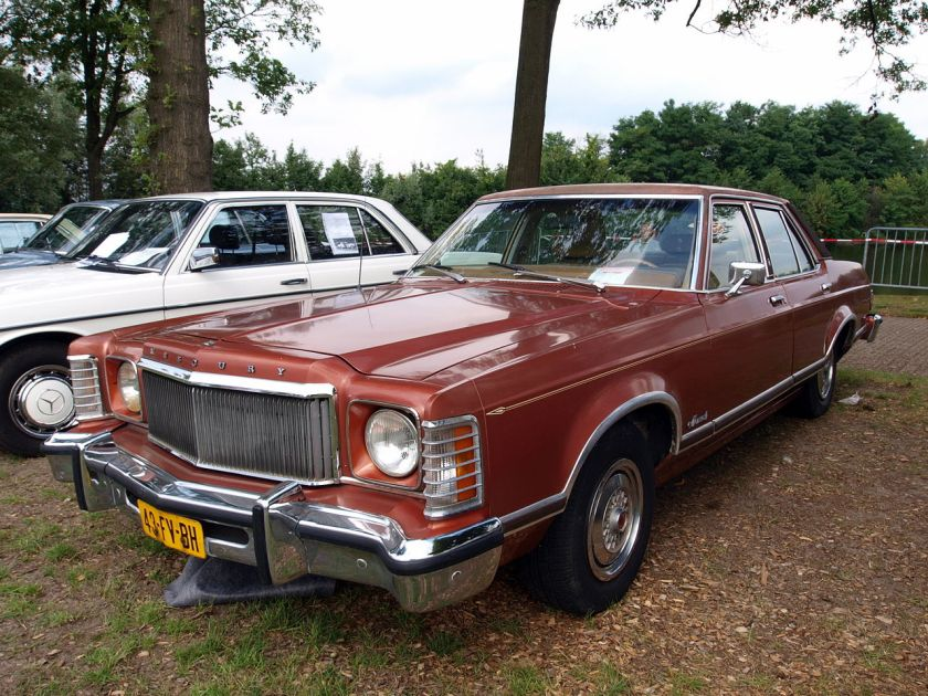 1975 Mercury Grand Monarch Ghia