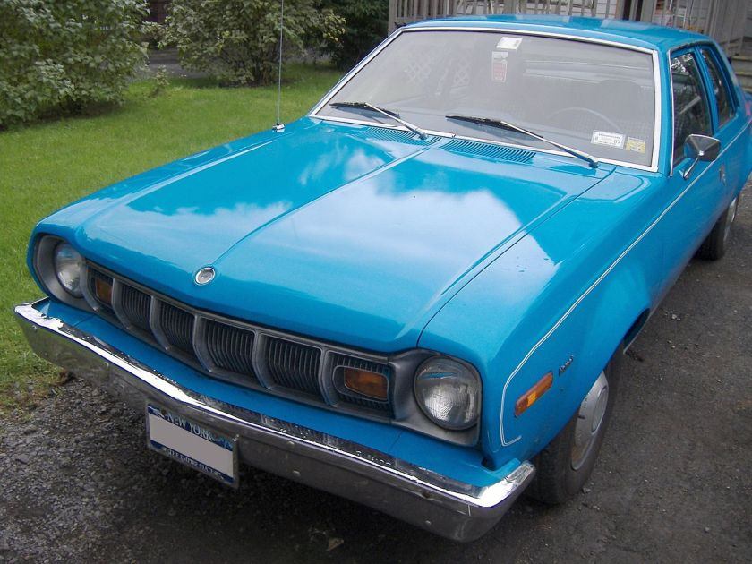 1975_AMC_Hornet_Two_Door_Sedan_Front