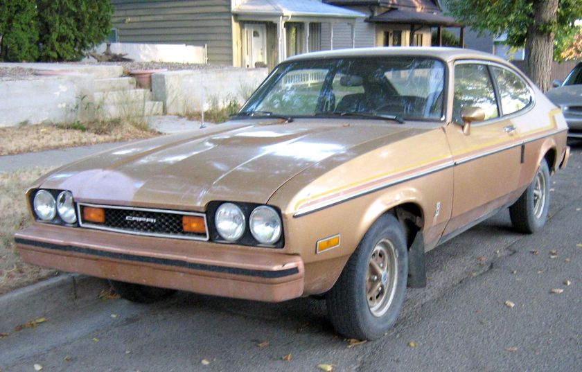 1976-78 Mercury Capri-front