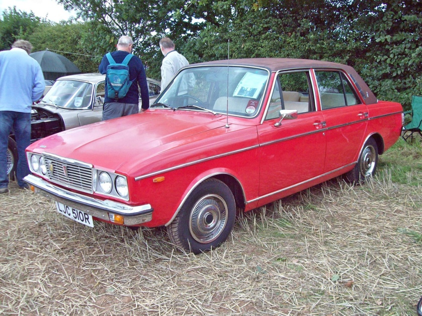1976 Humber Sceptre Ser.III Automatic Engine 1725 S4a