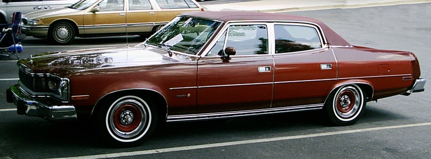 1978 AMC_Matador_Barcelona_4-door_side VAM Classic, based on the AMC Rambler