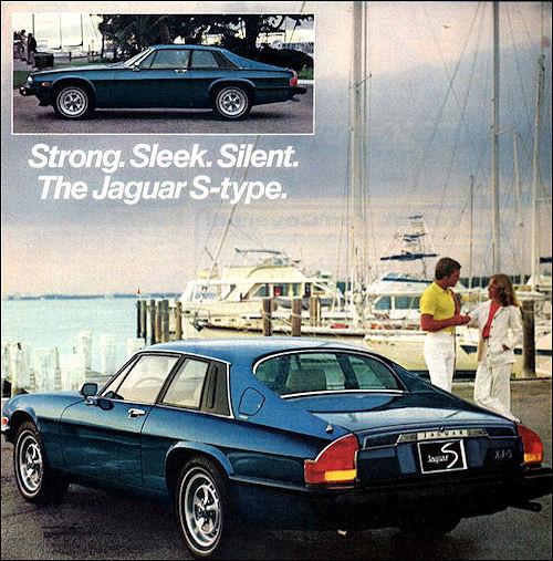 1978 jaguar xjs rear blue