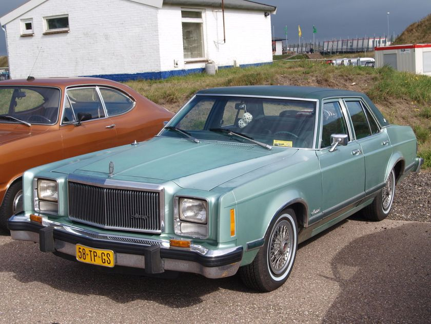 1979 Mercury Monarch 4-door in the Netherlands