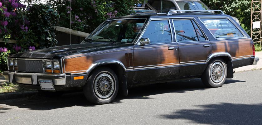 1979 Mercury Zephyr station wagon