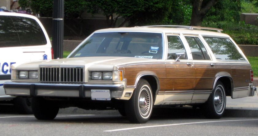 1979–1987 Mercury Colony Park front
