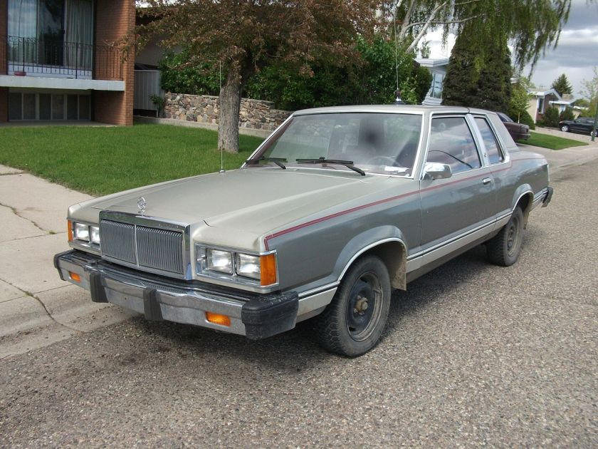 1981 Mercury Cougar 2-door