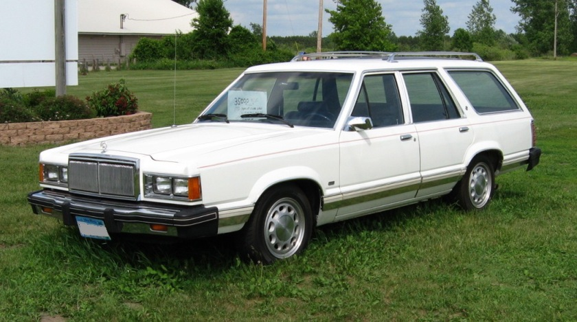 1982 Mercury Cougar GS wagon (Ford Mustang wheels)