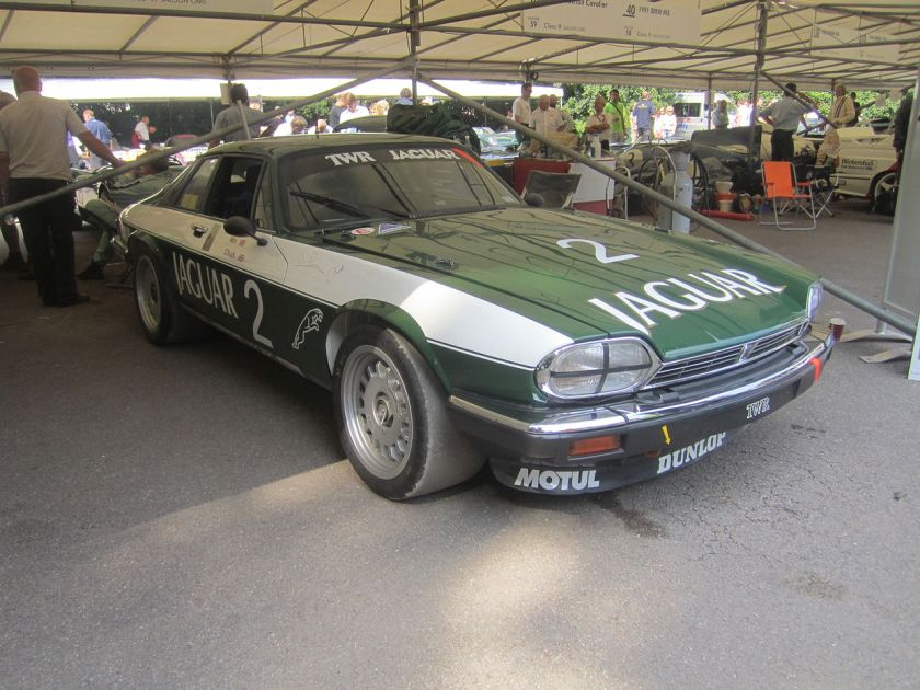 1984 Jaguar XJ-S won the 1984 European Touring Car Championship