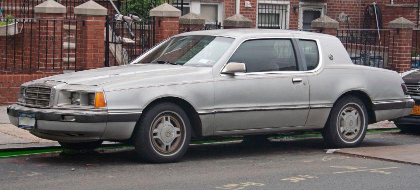1986 Mercury Cougar pre-facelift
