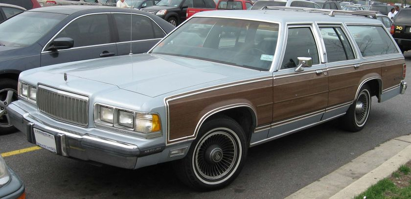 1988-1991 Mercury Grand Marquis Colony Park