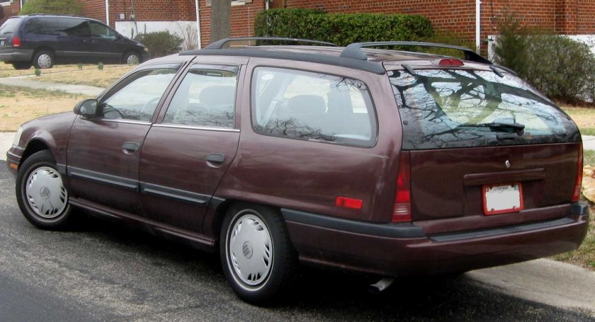 1989-1991 Mercury Sable GS wagon