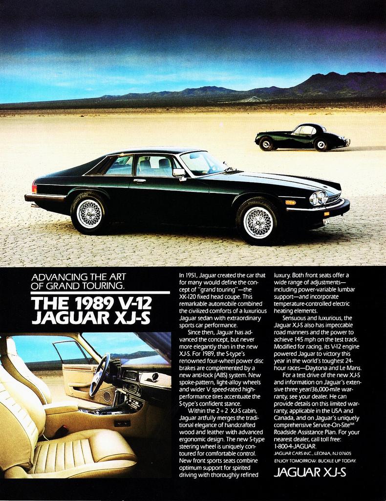 1989 Jaguar V-12 XJ-S
