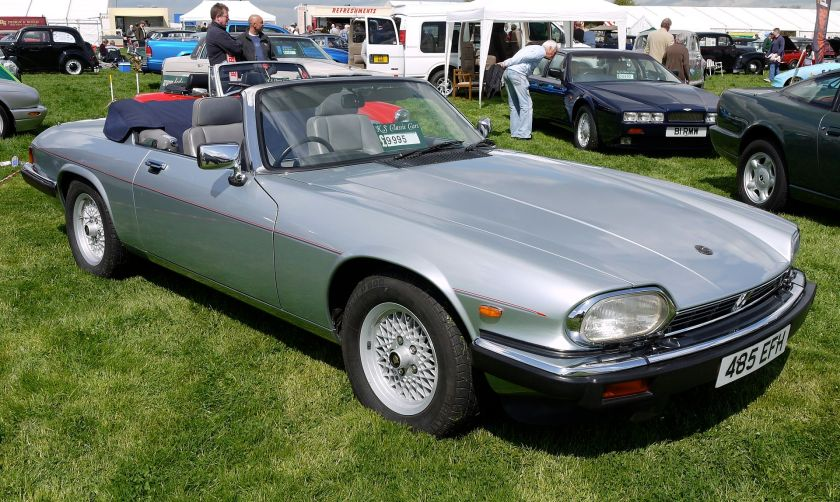 1989 Jaguar XJ-S (pre-facelift) full convertible