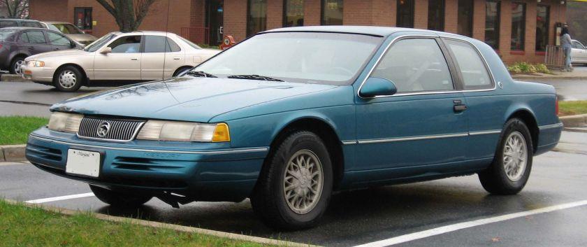 1991–93 Mercury Cougar