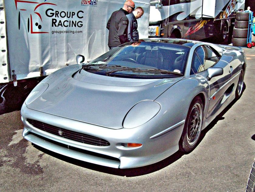 1992-94 Jaguar XJ220 Engine 3200cc Turbocharged V6