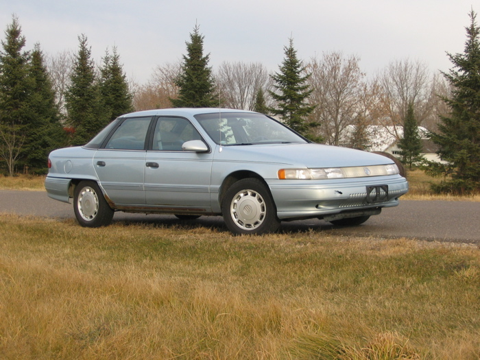 1993 (2nd generation) Mercury Sable GS