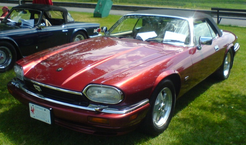 1995 Jaguar XJS photographed in Ottawa, Ontario, Canada at the 2010 Ottawa British Auto Show.