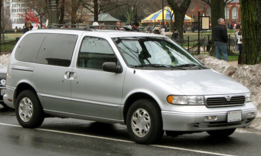 1996-1998 Mercury Villager